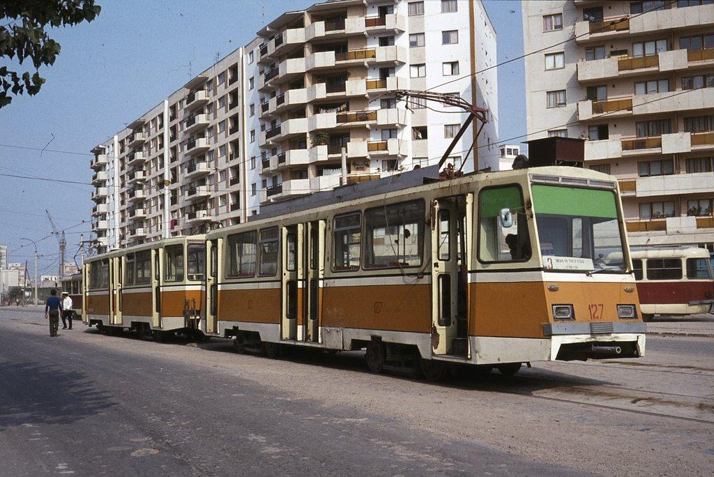 Tramvai în Timișoara suprins de Richard Lomas în 2011
