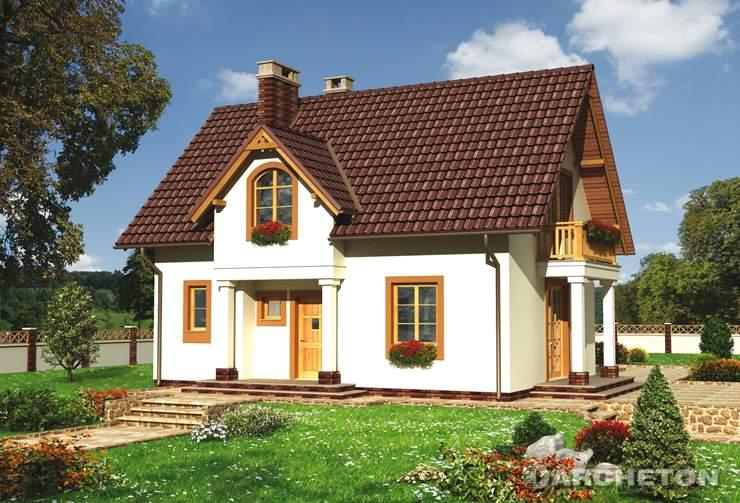 Proiecte De Case Mici Cu Mansarda   Model Casa