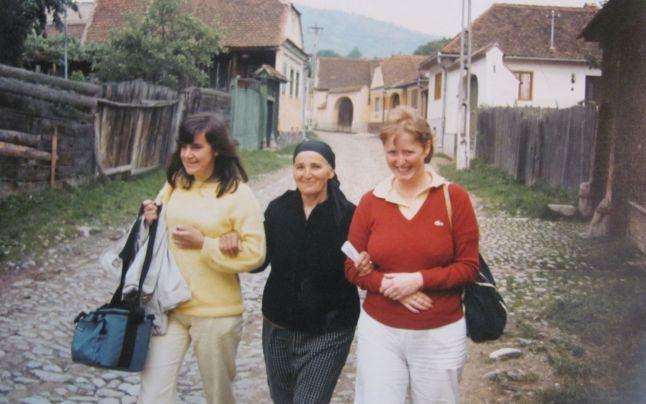 Eugenia Pau are 86 de ani și face agroturism din anii '70. Foto: adevarul.ro