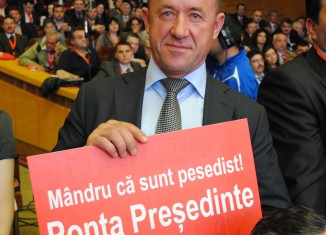 Un PSD-ist mândru