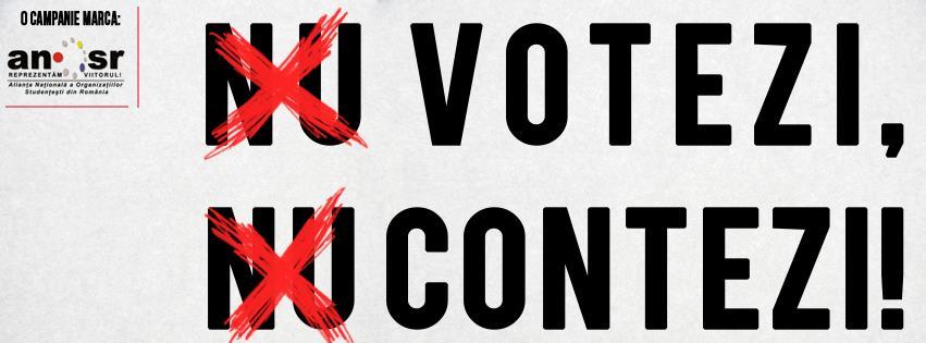 nu votezi nu contezi