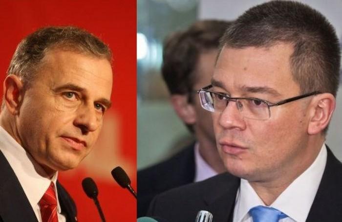 Mircea Geoană și Mihai Răzvan Ungureanu s-au contrat la TV