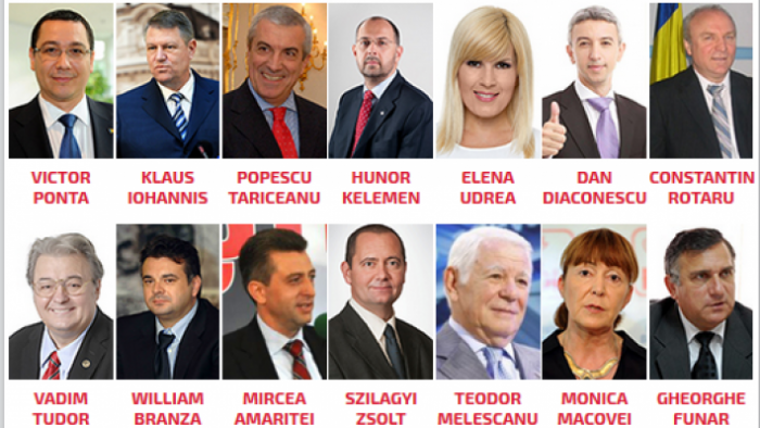 alegeri prezidentiale 2014 candidati
