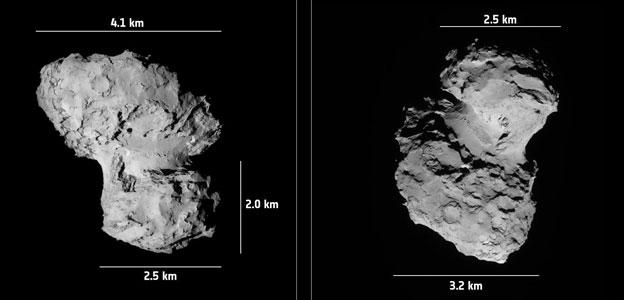 Așa arată cometa pe care va încerca să ajungă sonda ESA