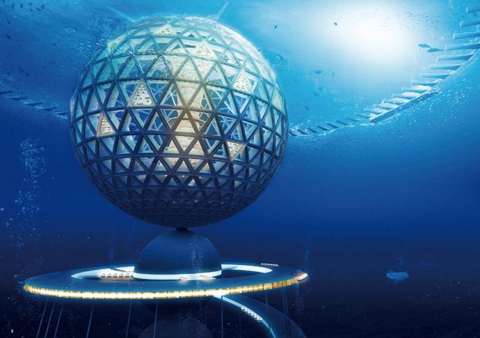 Specialiștii unei companii japoneze vor să construiască un oraș subacvatic Foto: Shimizu Corp