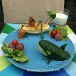 Artă la micul dejun Foto: Facebook Anne Widya