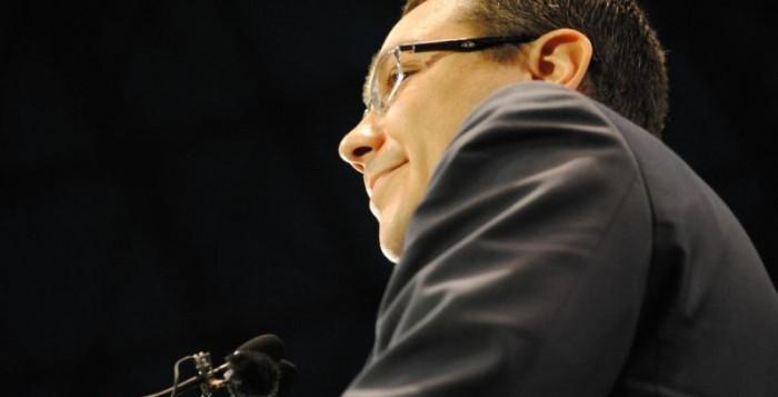 Victor Ponta și-a dat demisia FOTO: Ionuț Fantaziu