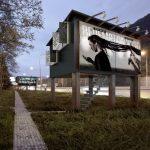 Locuințe din panouri publicitare