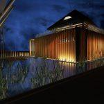 Proiect casă tradițională -pavilion văzut noaptea