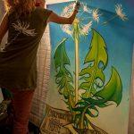 Picturi în San Francisco Foto: Facebook Mona Caron