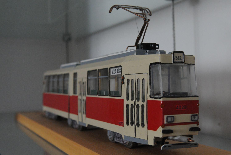 macheta tramvai