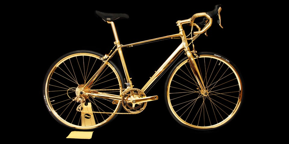 bicicleta din aur