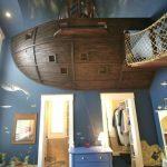 Dormitor de vis pentru un copil de șase ani Foto: http://twincitiesremodeler.com
