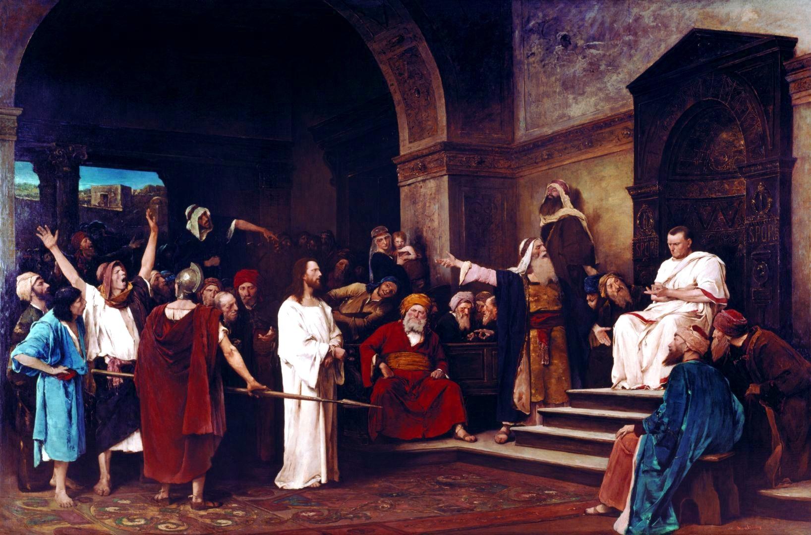 Ierusalim Iisus judecat