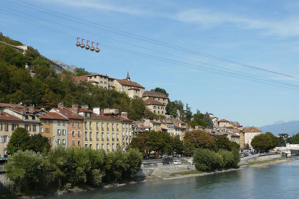 Grenoble FOTO: Matthieu Riegler/Wikimedia Commons