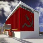 Unul dintre proiectele participante la concurs, ideea arhitecților Mihaela Lăcraru și Răzvan Lăcraru