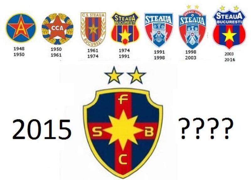 """""""Roș-albaștrii"""" au ajuns la șapte embleme. Noutatea noii steme - steaua în opt colțuri"""