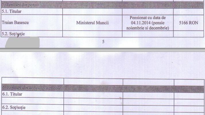 traian băsescu s-a pensionat