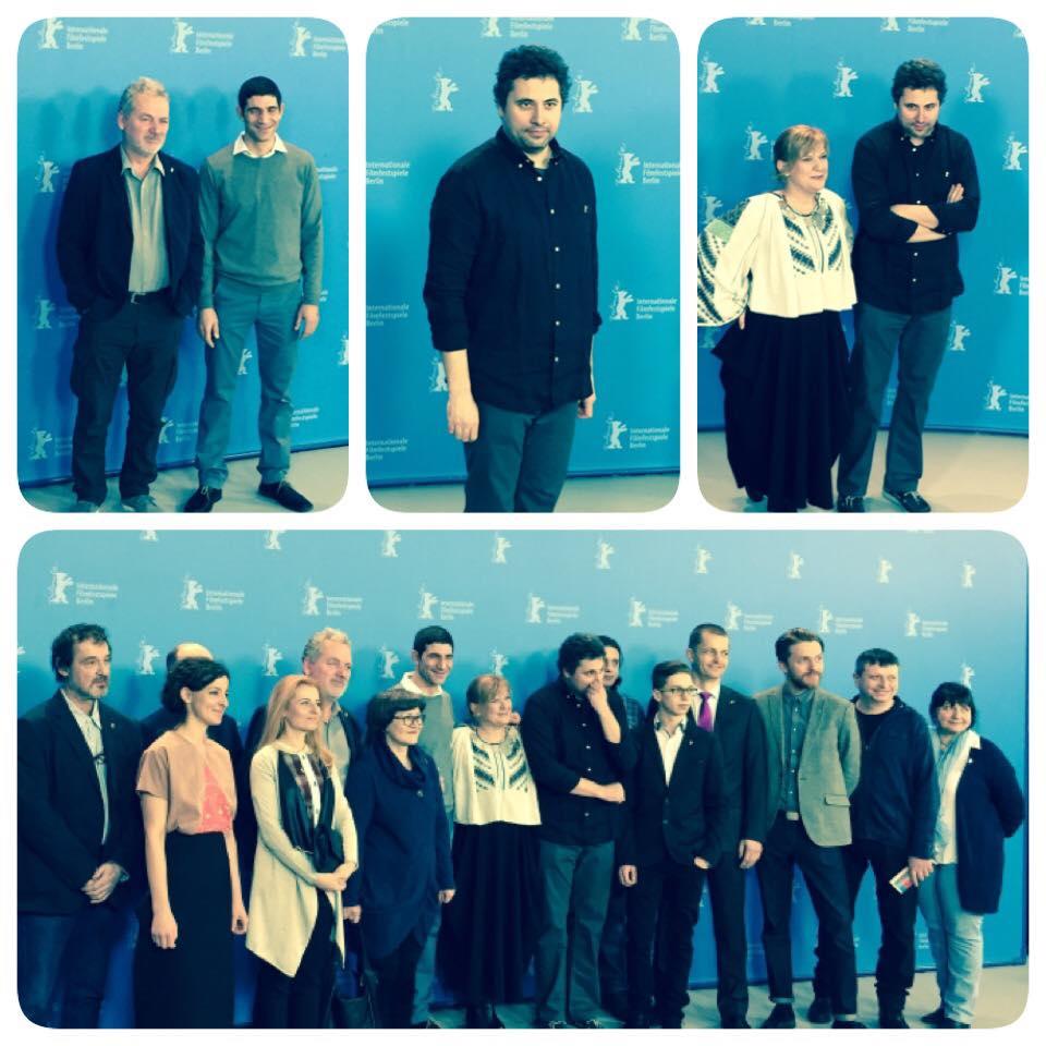 Echipa la Berlinale Foto: Facebook Aferim