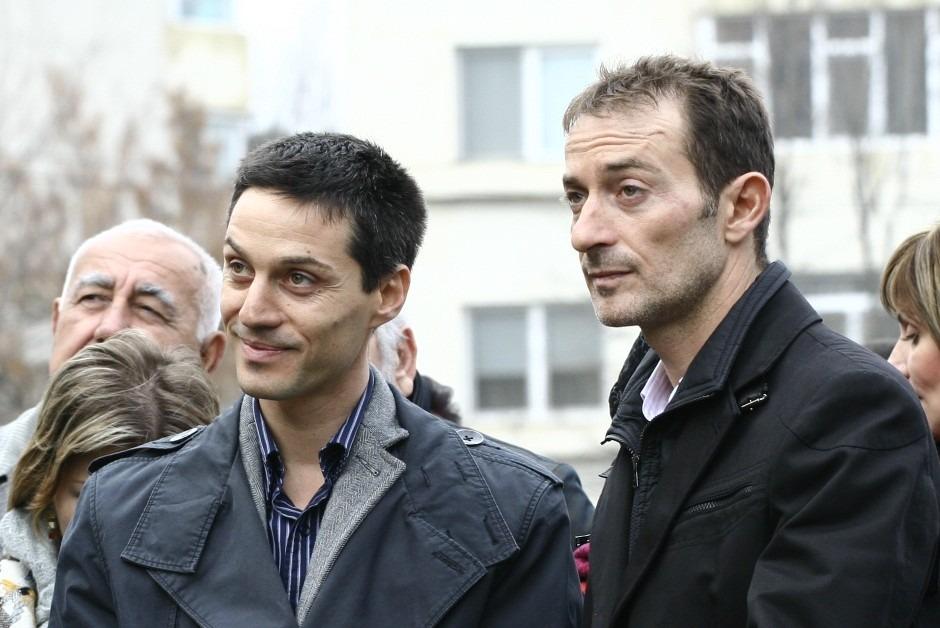 Alexandru Mazăre și Radu Mazăre FOTO: ziuaconstanta.ro
