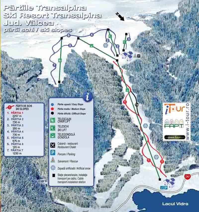 transalpina ski resort schita partii