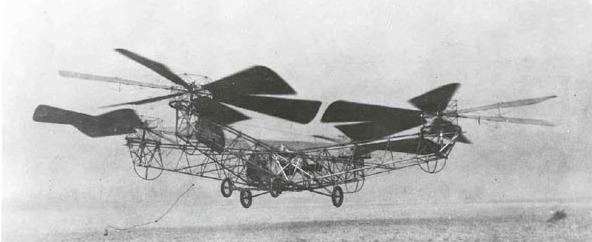 elicopterul lui George de Bothezat