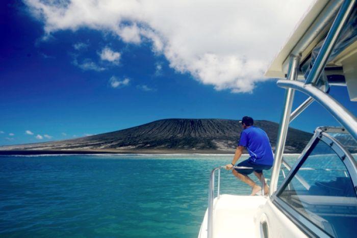 cea mai nouă insulă din lume
