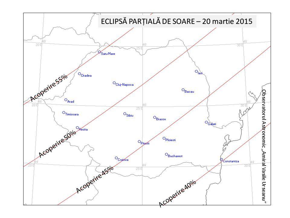 eclipsa partiala de soare din 20 martie