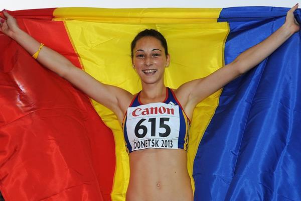 Florentina Marincu este una din marile speranţe ale atletismului românesc (iaaf.com)