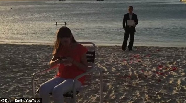 Cerere în căsătorie Foto: Captură Youtube