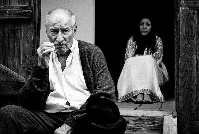 Victor Rebengiuc și Luminița Gheorghiu în Moromeții Captură Film