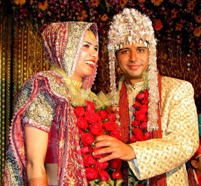 nuntă în india