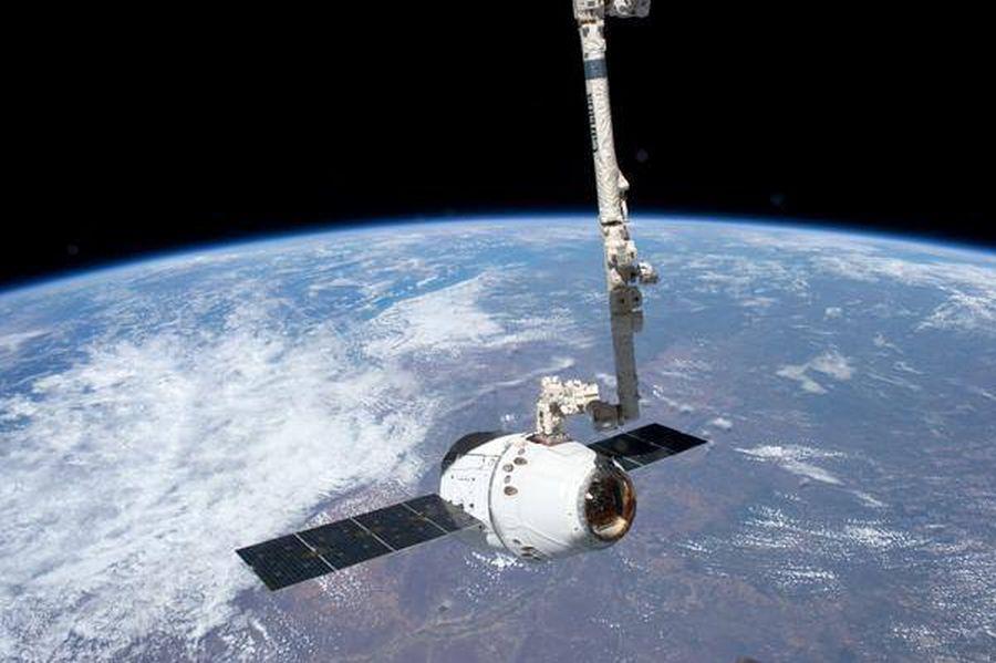 Misiune în spațiu Foto: Facebook Col. Chris Hadfield