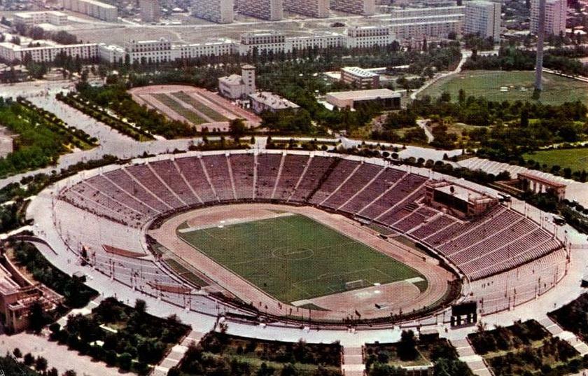 Stadionul Național din București, în epoca sa de aur