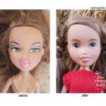 Păpuși recosmetizate Foto: Facebook Tree Change Dolls