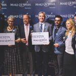Oana Pellea șl Marius Moga Foto: Facebook Make a wish Romania