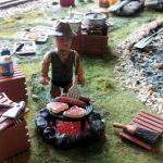 Loc de picnic pentru mecanici