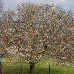 Cel mai frumos pom de Paște Foto:http://www.eierbaum-saalfeld.de/