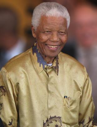 Nelson Mandela Foto: en.wikipedia.org