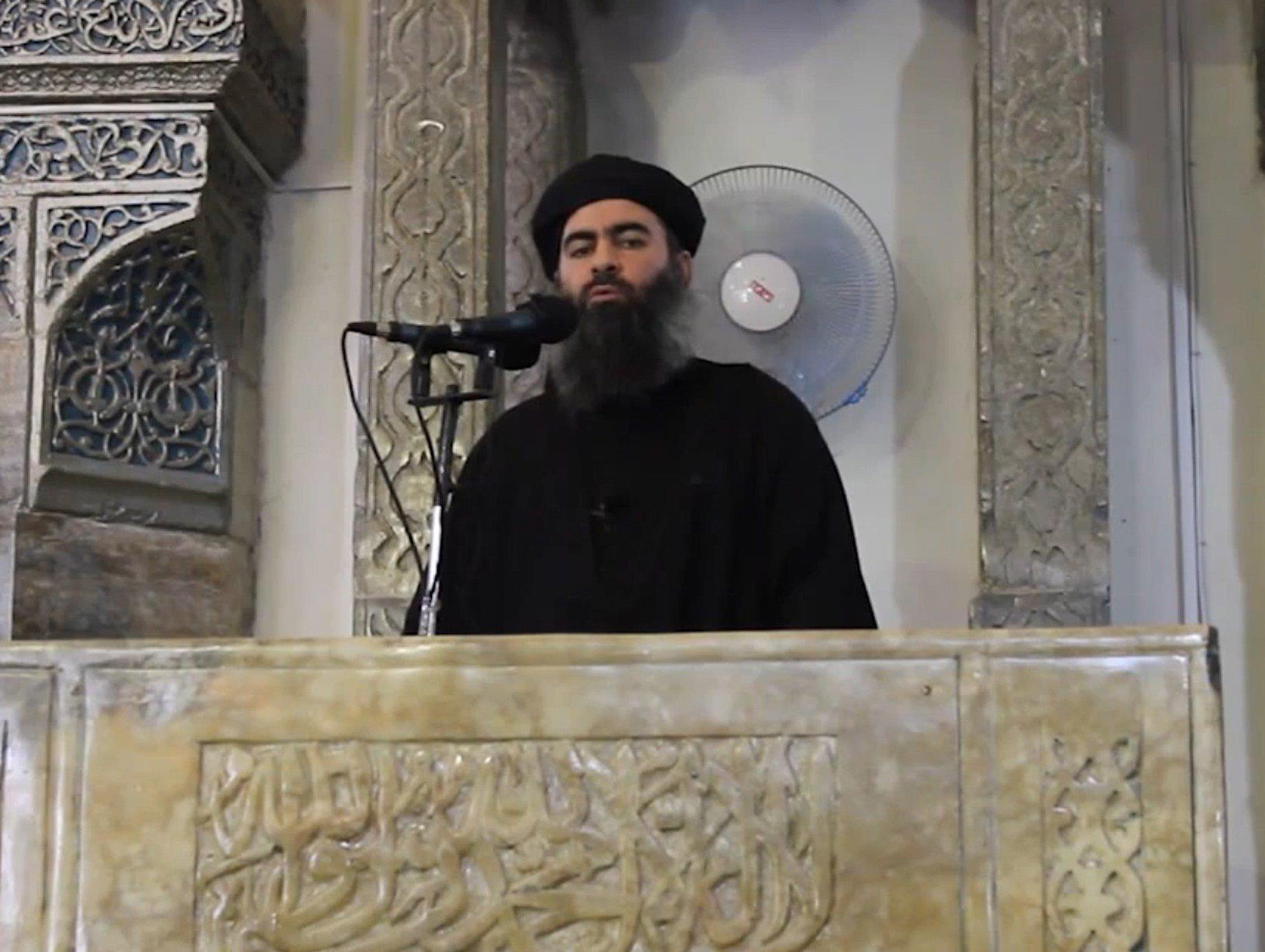 Abu Bakr al-Badghdadi, liderul Statului Islamic, este considerat unul dintre cei mai periculoși oameni din lume (nbcnews.com)