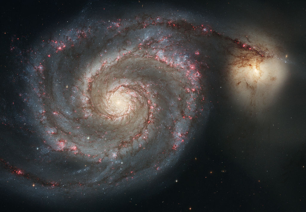 galaxia vârtelniței