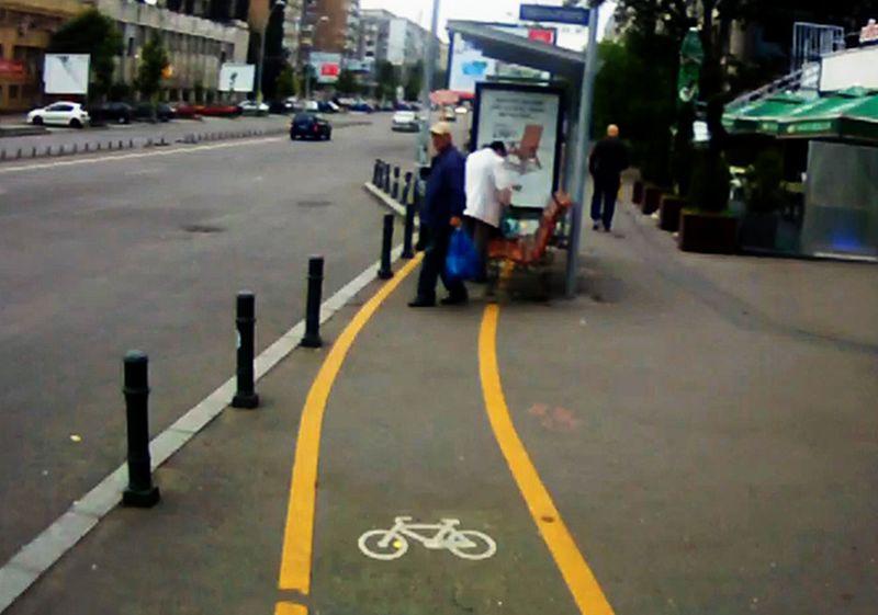 pistă de biciclete