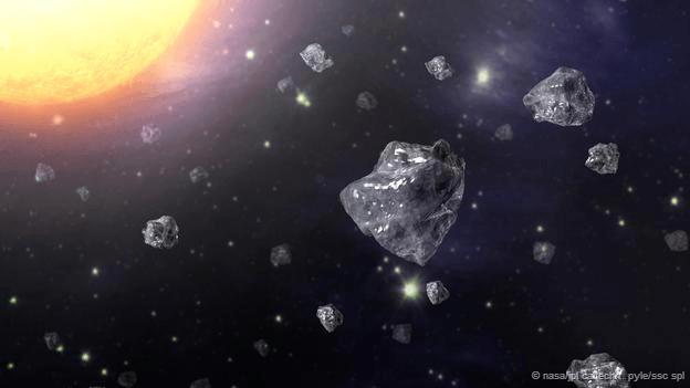 Diamantele călătoresc prin spaţiu şi uneori ajung şi pe Pământ (NASA/JPL Caltech/T. Pyle/SSC SPL)