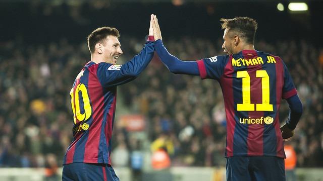 Lionel Messi a marcat golul care a pecetuit soarta titlului în Spania (fcbarcelona.com)