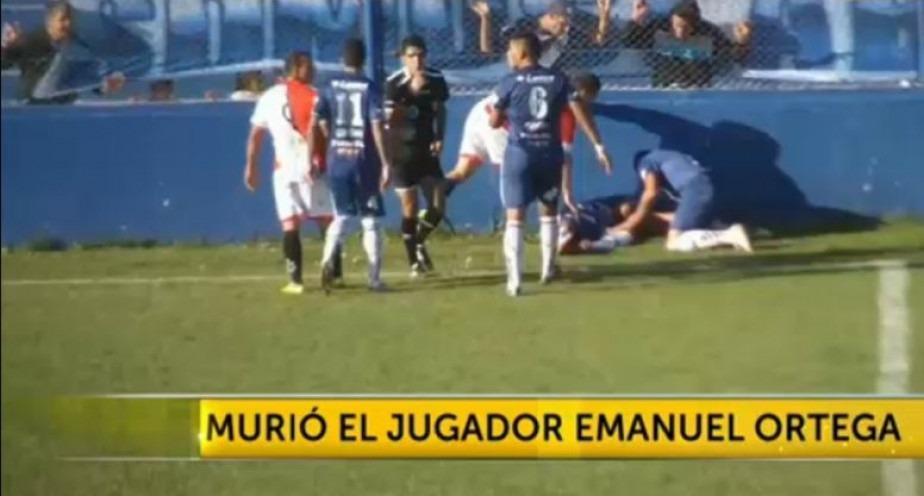 Fotbalistul argentinian Emanuel Ortega și-a pierdut viața pe teren