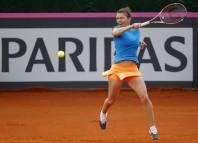 Simona Halep arată o formă extraordinară pe zgură (Fed Cup)