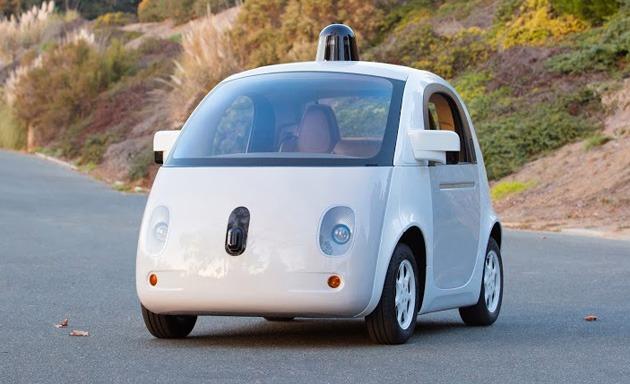 Primul prototip de mașină Google