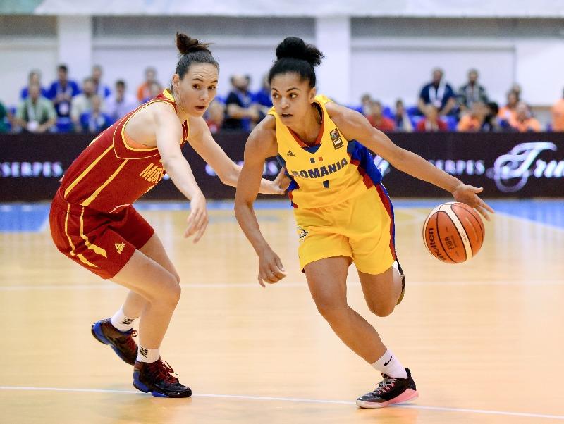 Românca Annemarie Pârău a reușit doar 4 puncte cu Muntenegrul (FIBA)