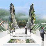cel mai lung pod de sticla din lume