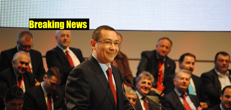 Victor Ponta FOTO: Ionuț Fantaziu/GreatNews